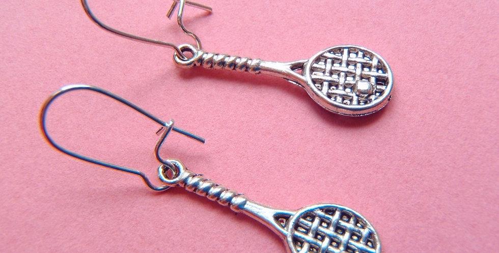 Boucles LES P'TITES RAQUETTES, miniatures