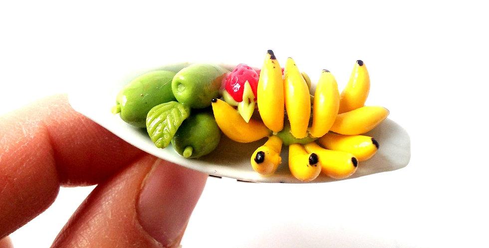 Bague LA PAGODE DE FRUITS, miniatures