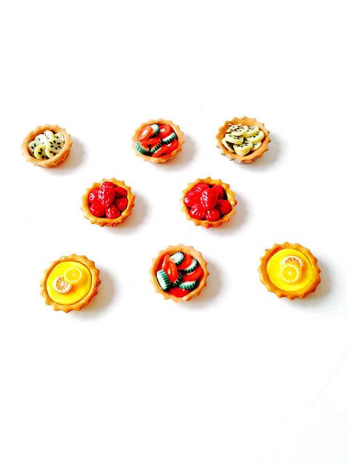 Au choix, 2 tartelettes miniatures