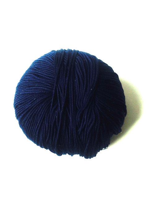 1 pelote de fil de coton mercerisé ELBA bleu marine