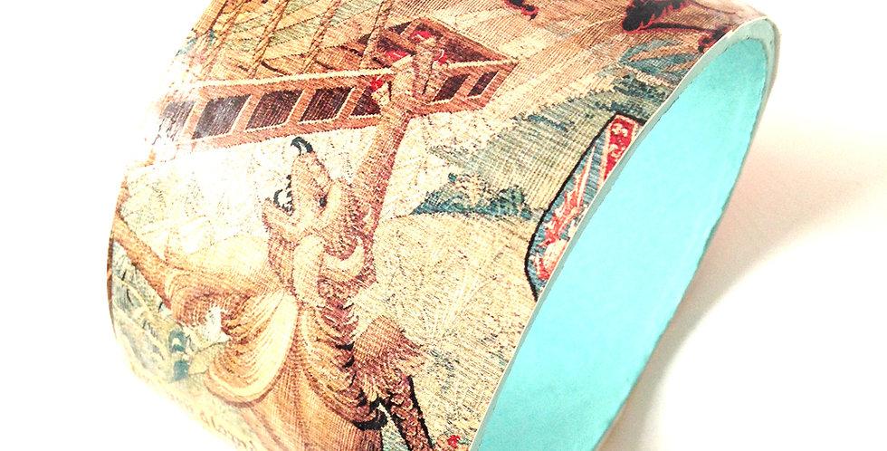Bracelet Médiéval LE GRIFFON, carton recyclé