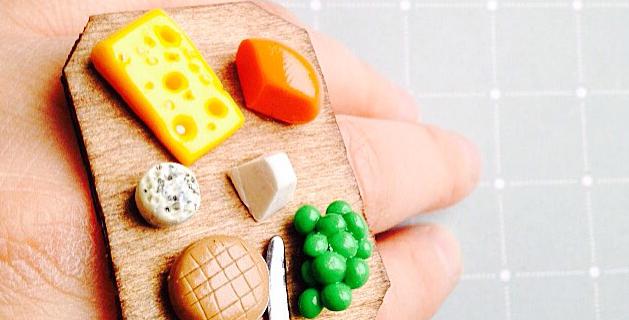 Bague LE PLATEAU DE FROMAGE, miniature