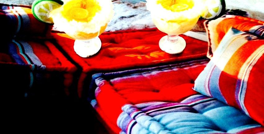 Boucles d'oreilles FROZEN MARAGARITAS, cocktails miniatures