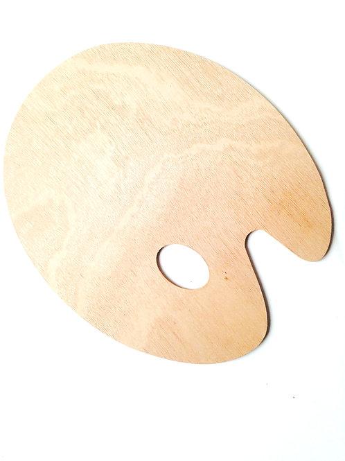 Palette en bois, traditionnelle, neuve. Convient gaucher ou droitier