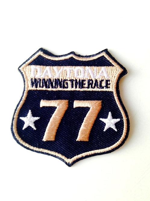 Patch brodé Thermocollant Daytona circuit courses automobiles