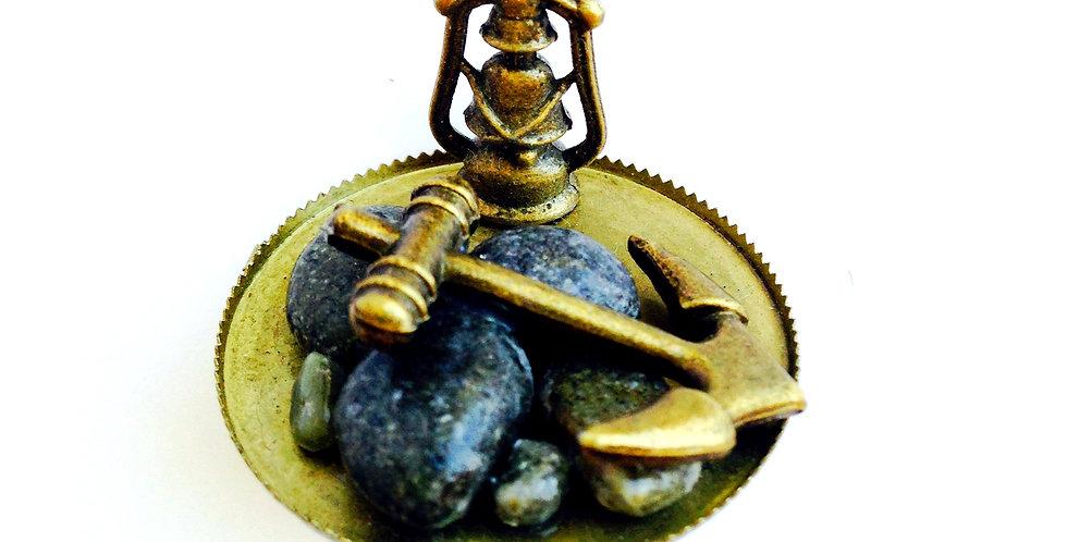 Bague PLAGE BRETONNE, miniature bronze