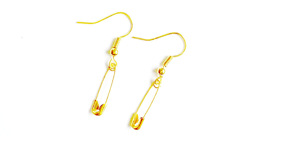 Boucles d'oreilles LES ÉPINGLETTES, miniatures