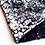 Thumbnail: Tissu --Velours texturé bleu gris, reflets brillants, motifs géométriques