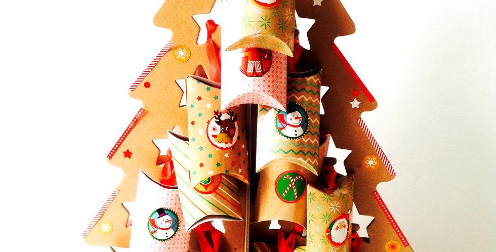 Calendrier de l'Avent, Bijoux 24 créations sur le thème fruits+ arbre