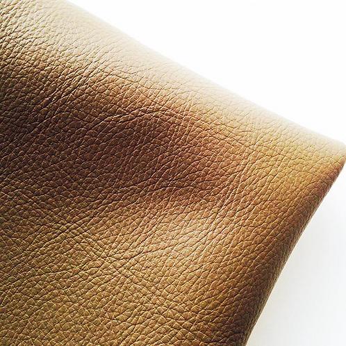 Simili cuir, couleur taupe ou marron clair