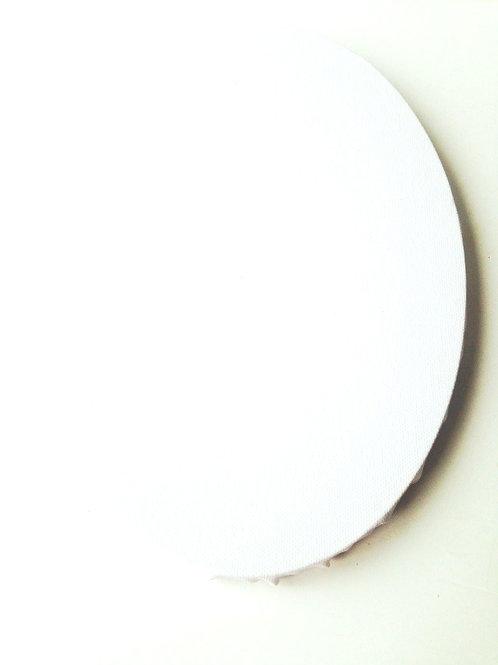 Canevas ovale, toile à peindre, tableau ovale