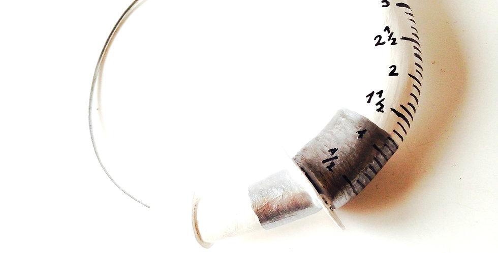 Bracelet LA SERINGUE MOLLE création originale