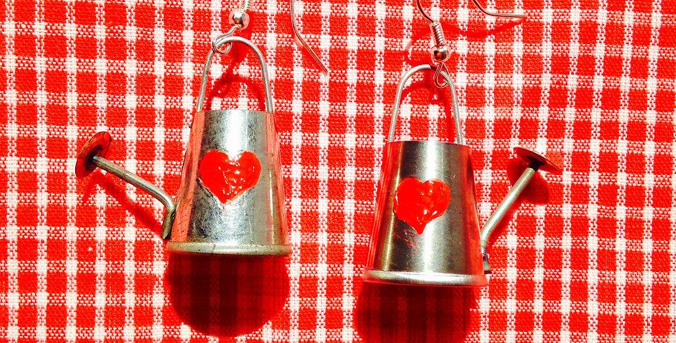 Boucles d'oreilles LES P'TITS ARROSOIRS, miniatures