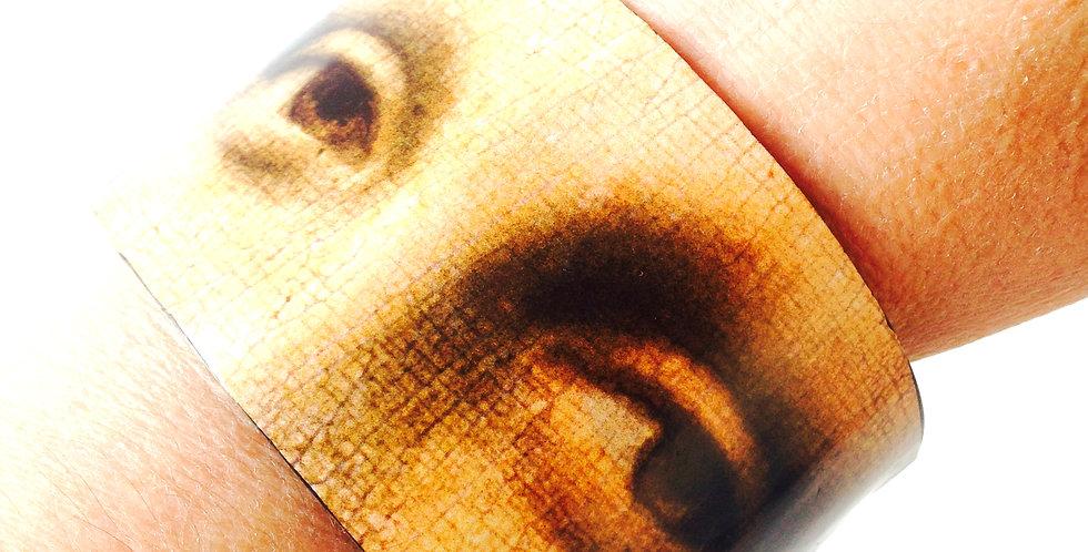 Bracelet Les YEUX DE MONA LISA, carton recyclé