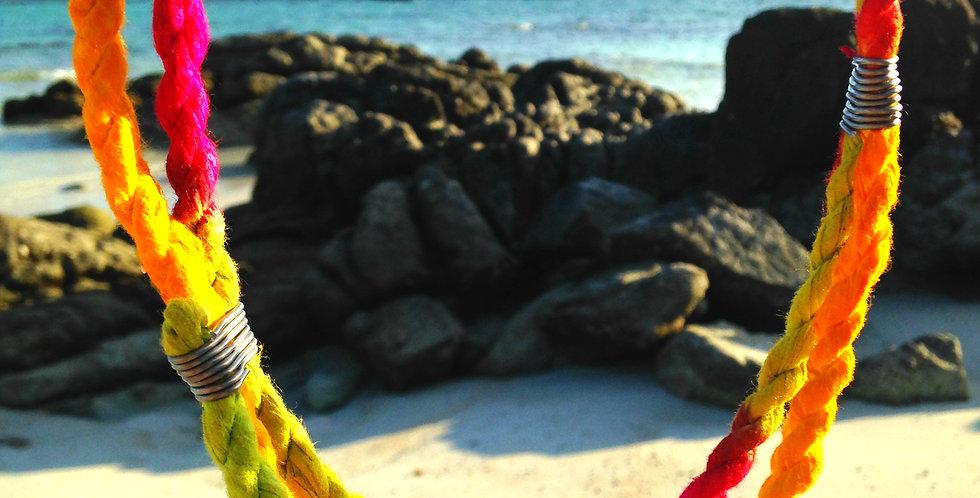 Collier WANDERLUST, multicolore tie & dye