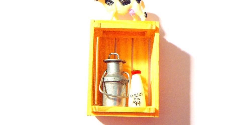 Sautoir LA VACHE SUR LE TOIT, miniature