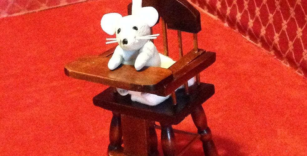 Figurine poupée souris de collection ERNEST RATTENDISH dit Baby Ernest