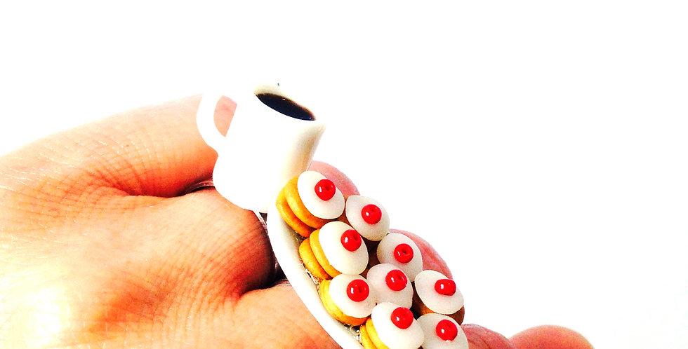 Bague UN THÉ EN ÉCOSSE, empire cakes miniatures