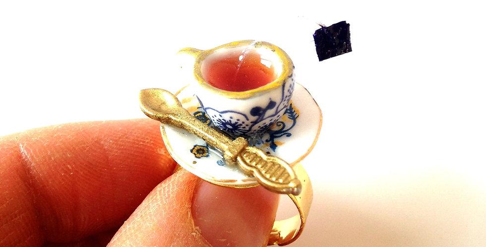 Bague LE THÉ GOÛT RUSSE, miniature