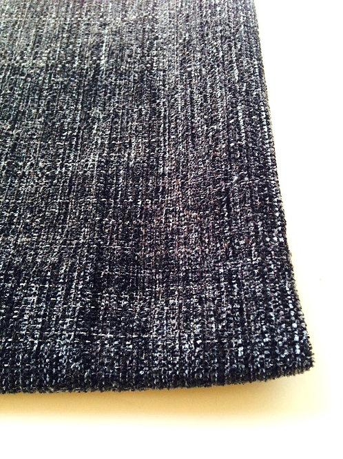 Tissu - Tweed gris anthracite, tissu épais 82 x 93 cm