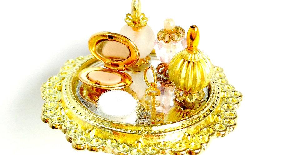 Bague LA PRINCESSE DE CLÈVES, boudoir miniature