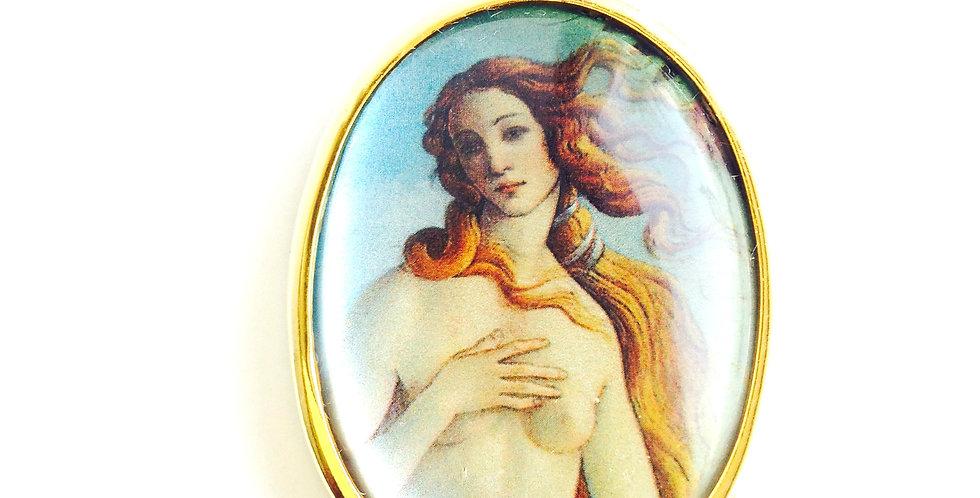Sautoir ELLE, d'après Botticelli Naissance de Vénus