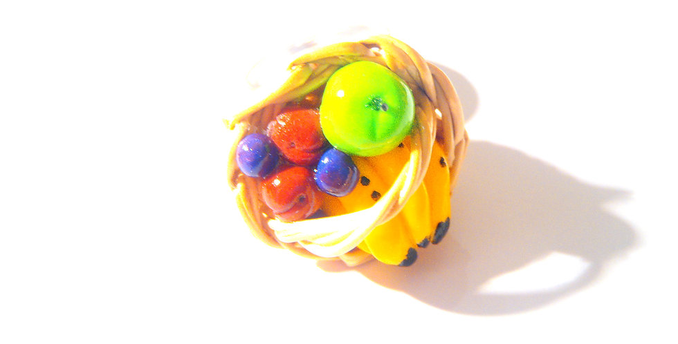 Bague LE P'TIT PANIER DE FRUITS, miniatures