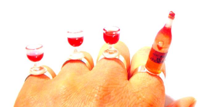 Bague multiple L'APÉRITIF, miniatures