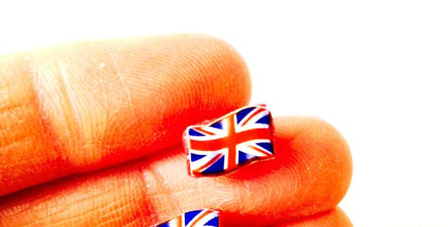 Puces d'oreilles UNION JACK, drapeaux anglais