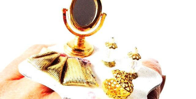 Bague RITA, STAR de CINÉMA, boudoir miniature
