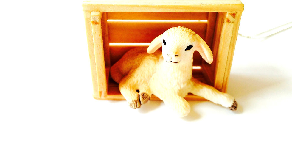 Sautoir TON-MOU, le mouton mignon