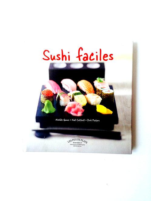 Livre SUSHIS FACILES, recettes, editions Marabout petit format