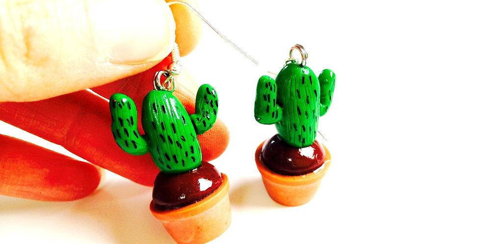 Boucles d'oreilles LES CACTUS, miniatures