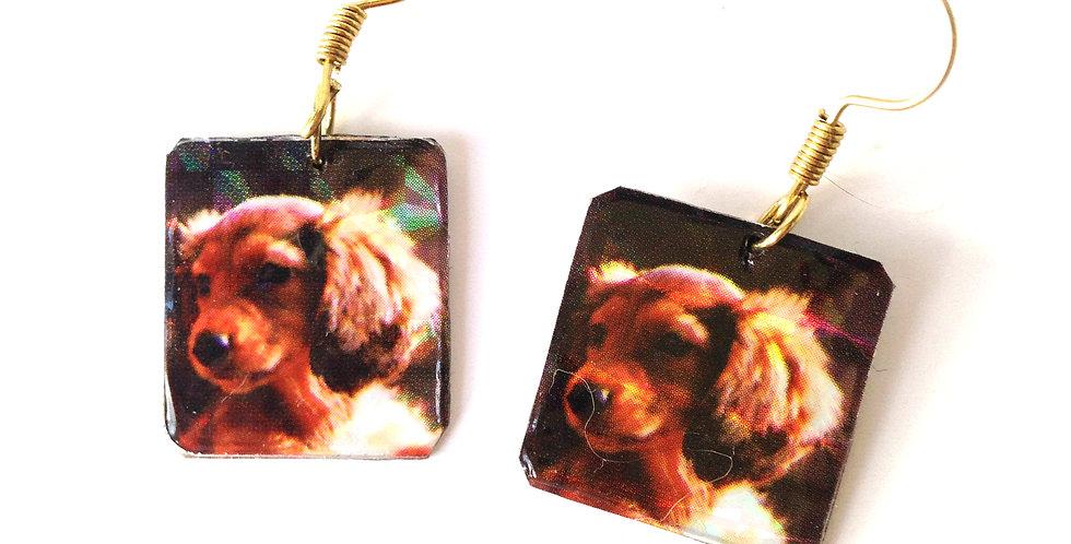 Boucles d'oreilles LE P'TIT DOGGY