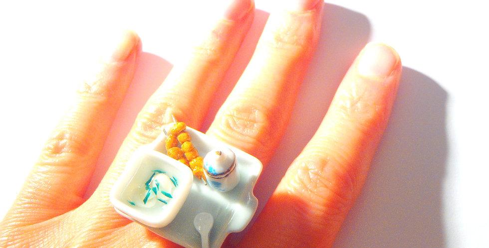 Bague LE P'TIT REPAS JAPONAIS, miniature