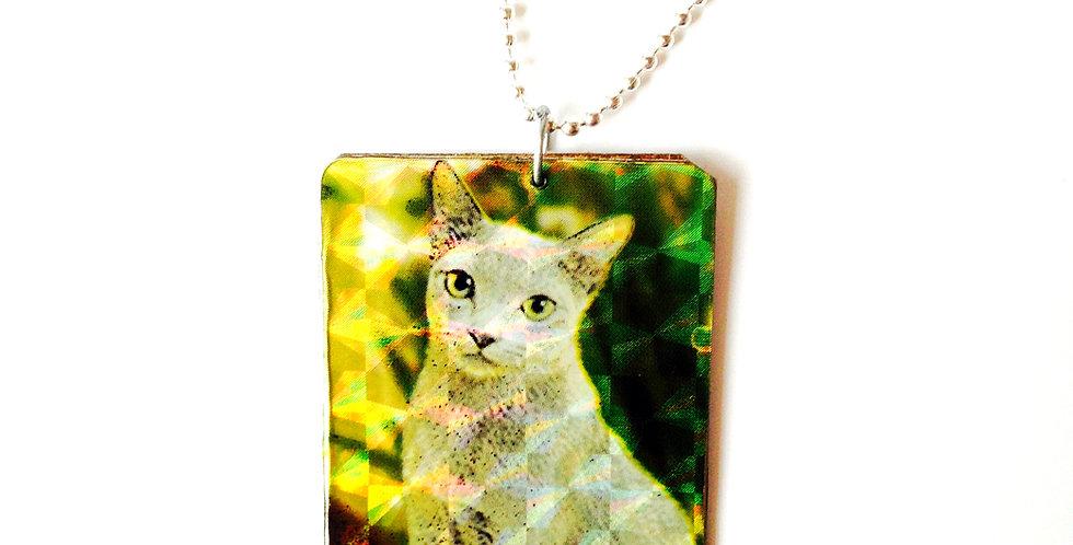 Sautoir LA GRANDE FIFI, ou le chat égyptien