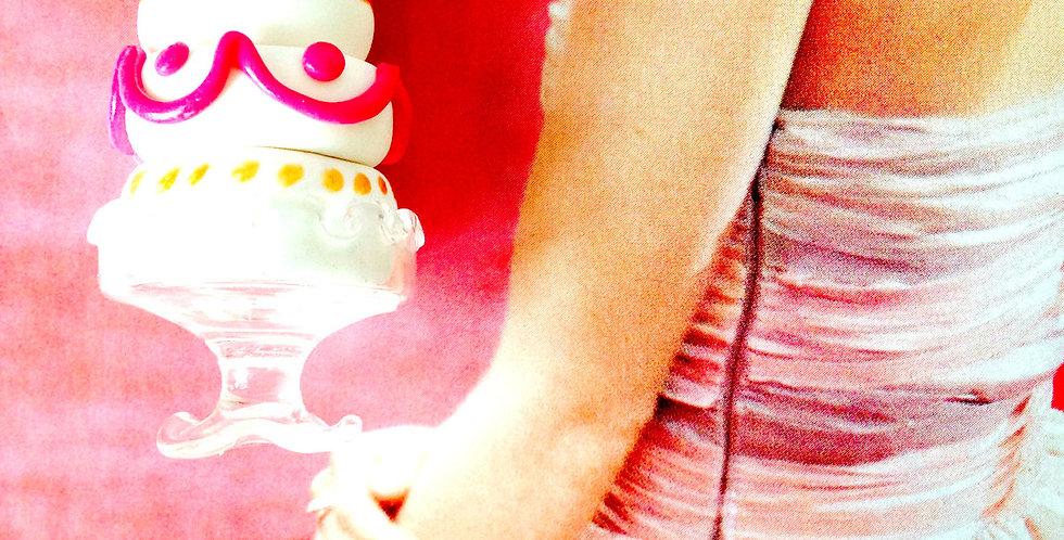 Sautoir THE WEDDING CAKE, gâteau de noces miniature