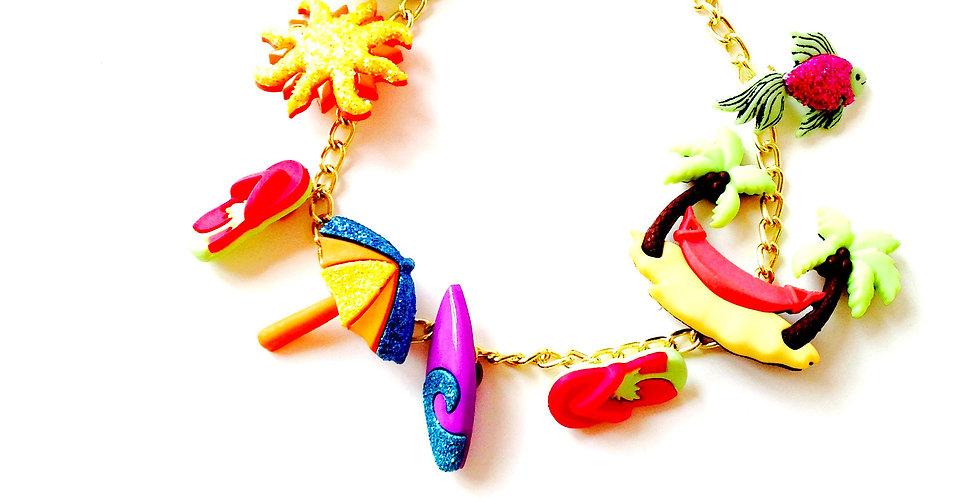Bracelet charm VACANCES DE RÊVE