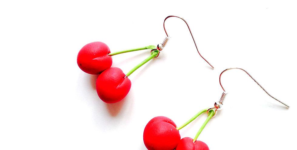 Boucles d'oreilles LES CERISETTES, miniatures