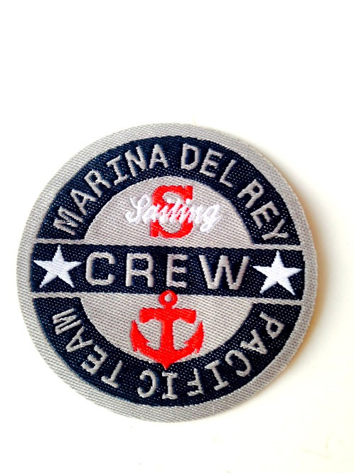 Patch brodé Thermocollant Marina del Rey Pacific Team