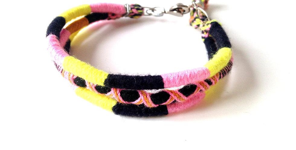 Bracelet MANDALAY, trois brins
