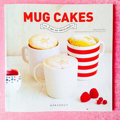 Livre MARABOUT, MUG CAKES, recettes de petits gâteaux