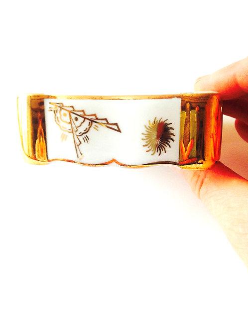 Boîte à bijoux Limoges ancienne / Antique Limoges Jewelry Dish