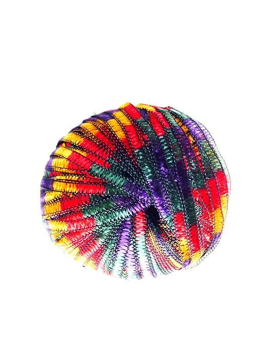 Bobine de fil FANTAISIE MULTICOLORE, à tricoter ou à crocheter