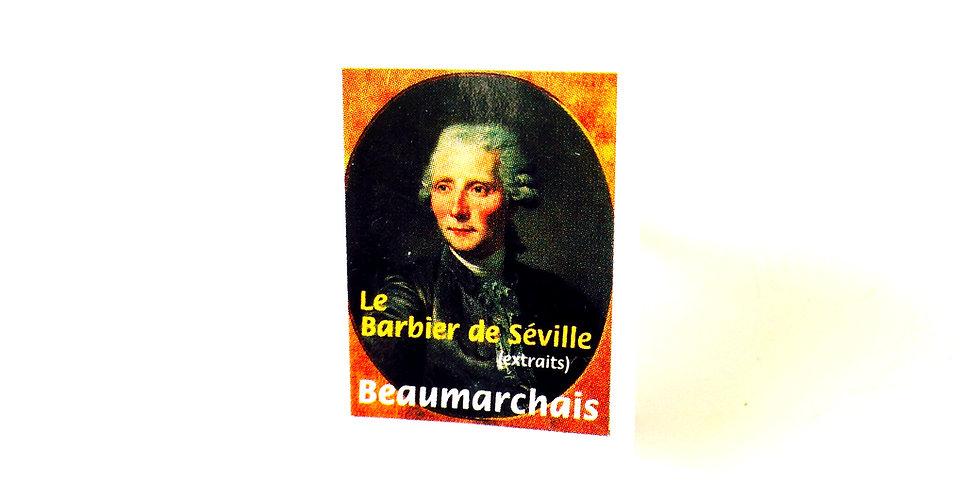 Bague Mini Livre LE BARBIER DE SÉVILLE, Beaumarchais