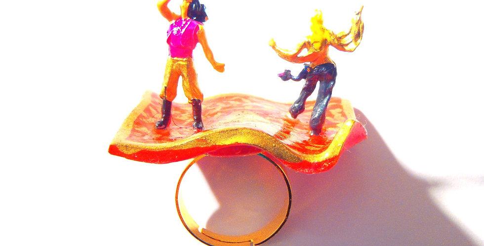 Bague LE TAPIS VOLANT, miniature