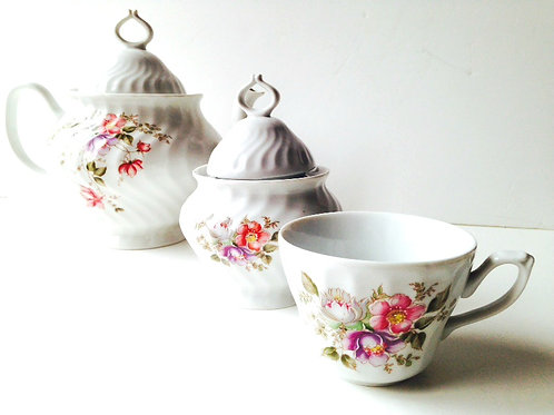 Set de thé vintage APULUM, Roumanie