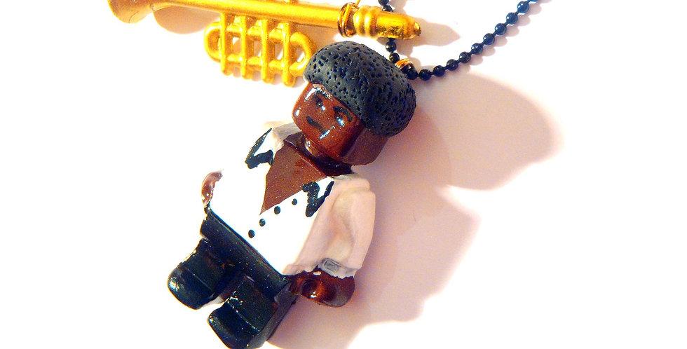 Sautoir PROLÉGOMÈNE, Miles Davis, bonhomme miniature