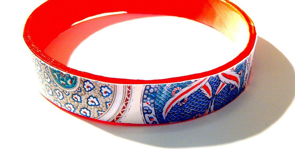 Bracelet PRINCESS OF PERSIA, fin, rouge