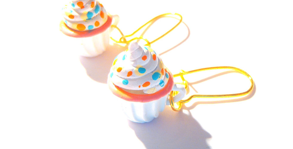 Boucles PERDUE DANS LE DESSERT, tasses miniatures